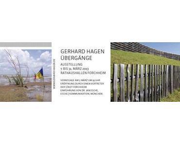 Ausstellung in Forchheim – Gerhard Hagen: Übergänge