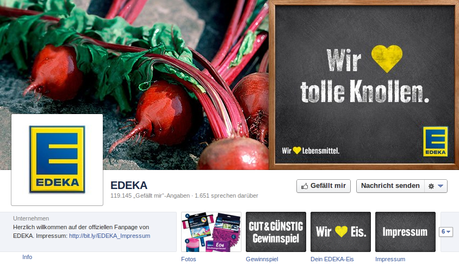 Reaktives Communitymanagement von Edeka