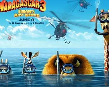Review: MADAGASCAR 3 - FLUCHT DURCH EUROPA - Dann lieber ein Besuch im Zirkus