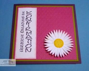 Konfirmationseinladungen für Mädchen