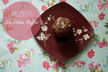 rezept schokoladen muffins. Black Bedroom Furniture Sets. Home Design Ideas