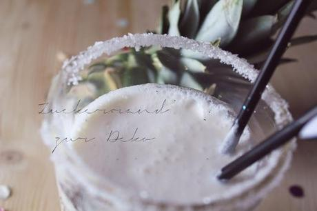 My Yummy Birthday Cocktail: Pina Colada {Birthday Week III }