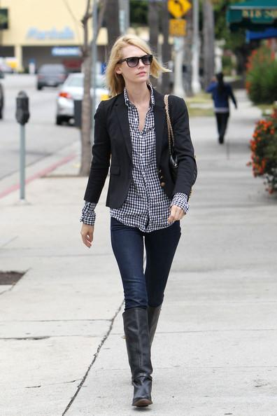 January Jones - January Jones in Beverly Hills