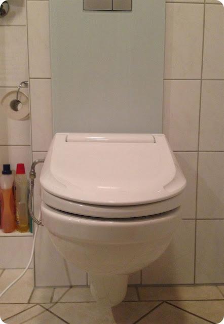 waschen statt wischen mein neues dusch wc. Black Bedroom Furniture Sets. Home Design Ideas