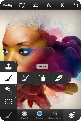 Adobe Photoshop Touch for phone iPhone Apps