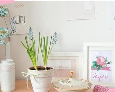 Inspiration am Dienstag: Moodboard und Papierblumen von Jurianne Matter