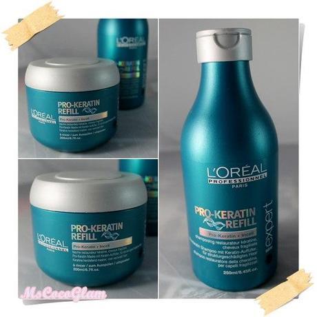 l oréal pro keratin refill shampoo haarkur review
