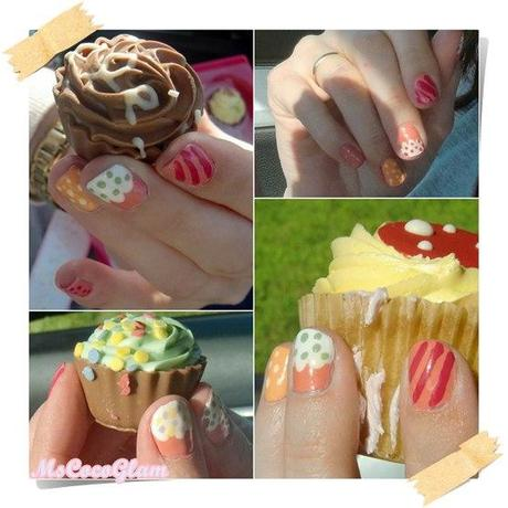 Cupcake Nails - Back to the Roots