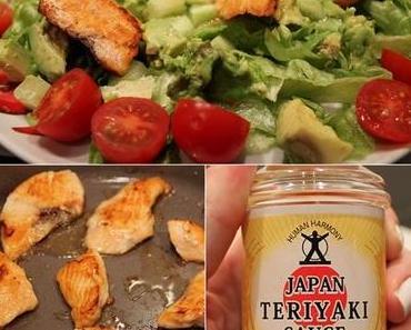 Rezept: Sake Teriyaki - Japanischer Lachs-Salat