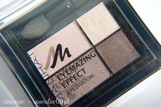 MANHATTAN - Eyemazing Effect Eyeshadow - Rosy Wood