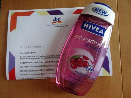 NIVEA Powerfruit Refresh Pflegedusche