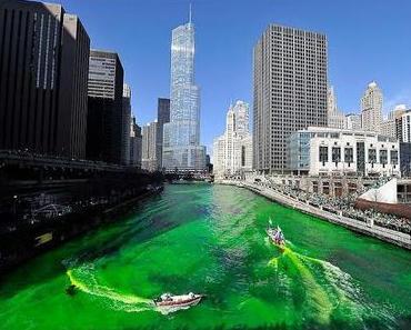 St Patrick`s Day in den USA - wenn alles grün wird