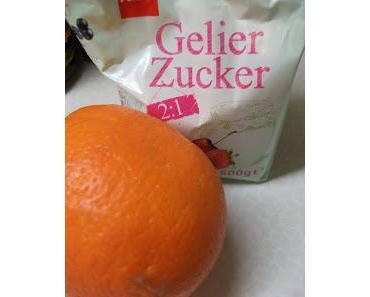 Orangenmarmelade ...