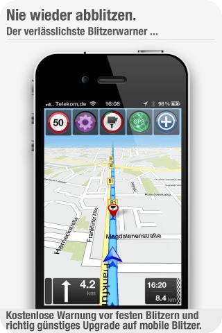 GPS Navigation 2 + Blitzer (skobbler) iPhone Apps