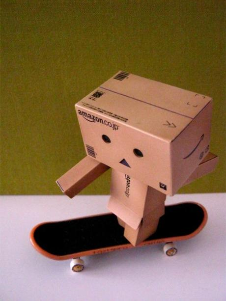 Danbo in action