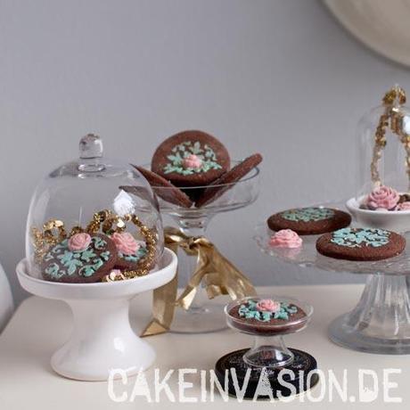 Superschokoladige schokoladen pl tzchen vegan laktosefrei - Platzchen dekorieren ...