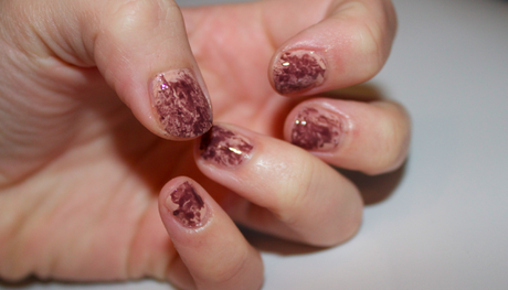 Estee Lauder x Saran Wrap Nails