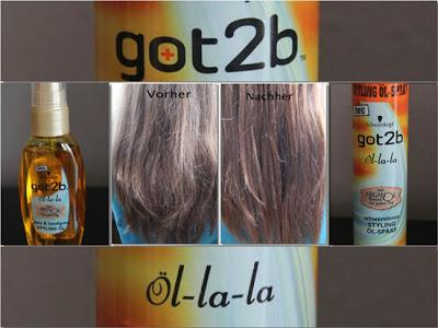 got2be ÖL-la-la  Styling Öl-Spray  das Glanz & Bändigung Styling Öl