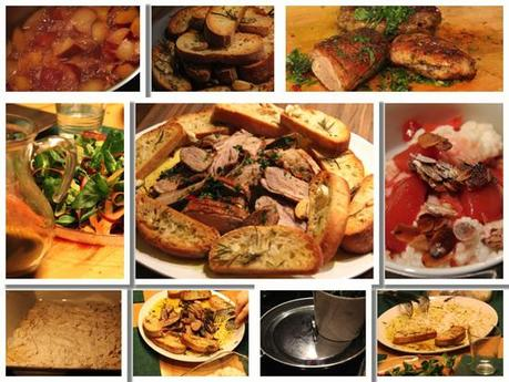 8tag Jamie Oliver 30 Minuten Menü Ente Salat