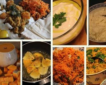 7.Tag - Jamie Oliver 30 Minuten Menü: Gemüsecurry, Basmatireis, Möhrensalat...