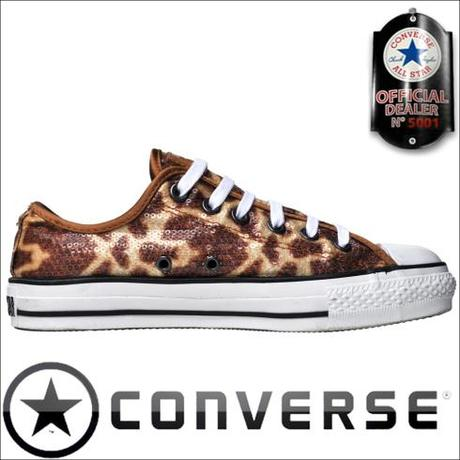 Converse Chucks 112499 Giraffe Pailletten John Varvatos Design limited Edition