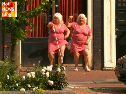 Hollands älteste Prostituierte gehen mit 70 in Pension