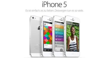 apple macht wieder mehr werbung f r das iphone 5. Black Bedroom Furniture Sets. Home Design Ideas
