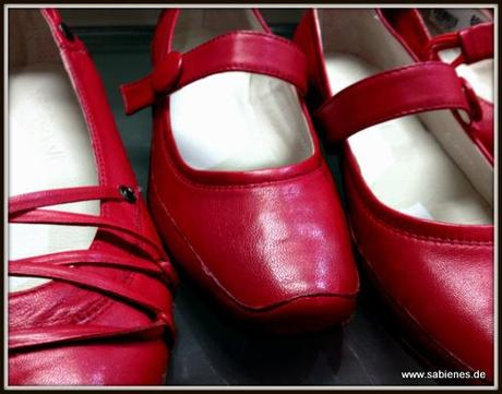 Rote Schuhe Papst