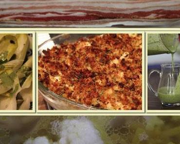 11.Tag - Jamie Oliver 30 Minuten Menü-Blumenkohl- Makkaroni- Auflauf ...