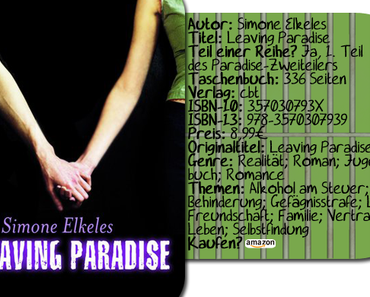 "|Rezension| ""Leaving Paradise"" von Simone Elkeles"