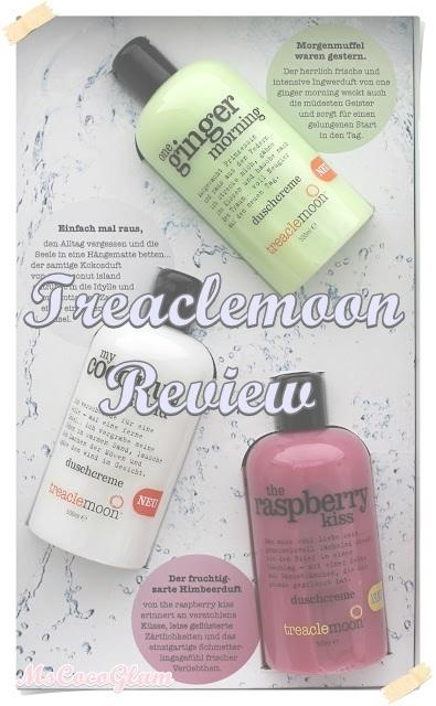 Treaclemoon Duschcreme 'My Coconut Island & The Raspberry Kiss' *Review*