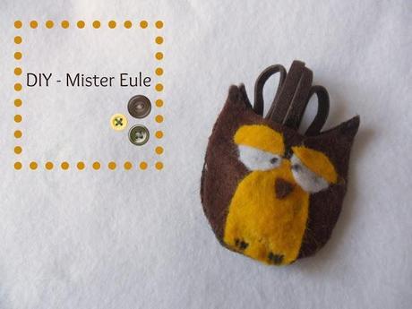 "{DIY} Schlüsselanhänger ""Mister Eule"""