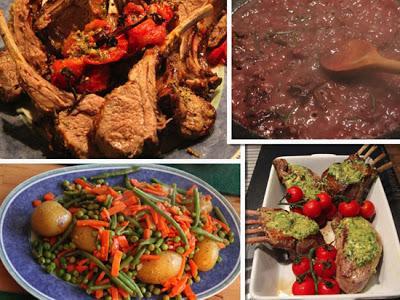 12 Tag Jamie Oliver 30 Minuten Frühlingslammgemüseplatte