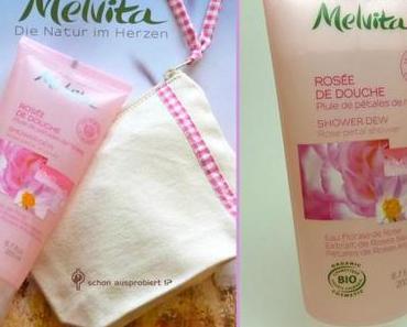 Melvita …ein Rosenblütenregen für die Dusche