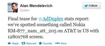 Nokia: Noch ein neues Smartphone mit der Bezeichnung RM-877 aufgetaucht?