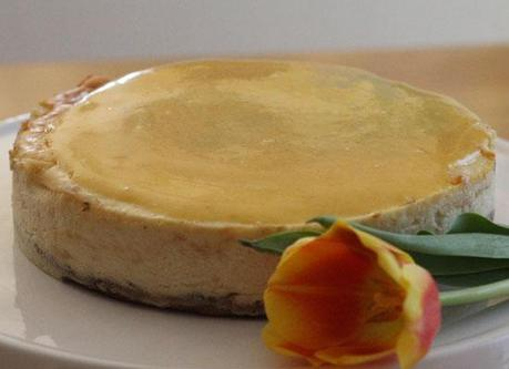 Sonntags ist Kaffeezeit:  Sunshine White Chocolate Cheesecake