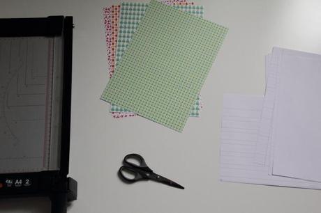 kreativ sein eigene hefte binden. Black Bedroom Furniture Sets. Home Design Ideas