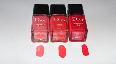 Dior Addict Glosse + Swatches + Lacke