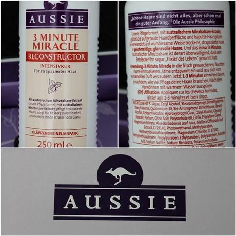 Aussie 'Miracle Moist' Shampoo, Conditioner & 3 Minute Reconstructor {Review}