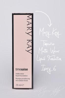 [Review] Mary Kay - Timewise Matte-Wear Liquid Fondation