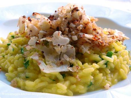 Safran-Petersilien-Risotto