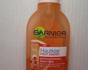 Garnier Hautklar Fruit Energy Waschgel