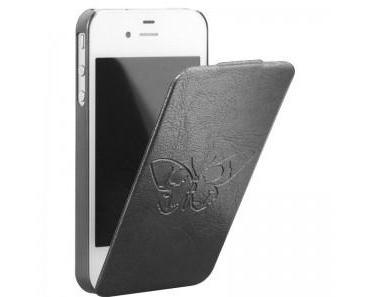 Bigben Zadig & Voltaire Flap Leder Tasche für iPhone 4