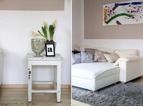 Neues wohnzimmer durch altes sofa - Neues wohnzimmer ...