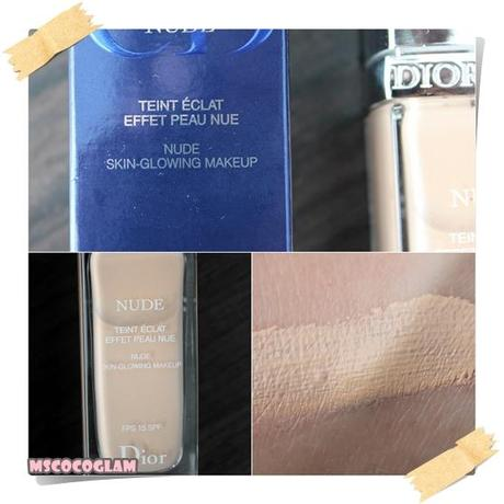 Dior Nude Skin-Glowing MakeUp *Review*