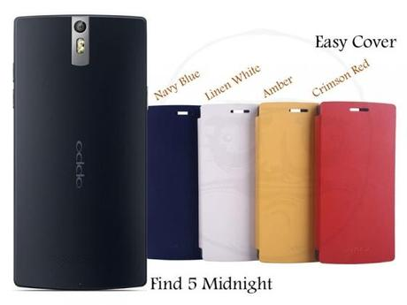 Oppo Find 5 Style Black and Cover Colours