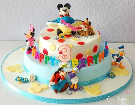 mickey mouse torte und ein give away. Black Bedroom Furniture Sets. Home Design Ideas