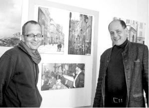 """»Weltenbilder« in der Bürgerwache, Beitrag aus dem """"Westfalenblatt"""" über meine Fotoausstellung"""