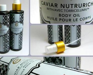 QVC Shopping: Elizabeth Grant Caviar Body Oil / Körperöl im Duopack!