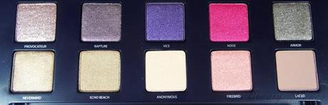 Urban Decay Vice Palette + Swatches